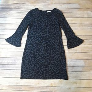 Old Navy Leopard Animal Print Sweater Dress